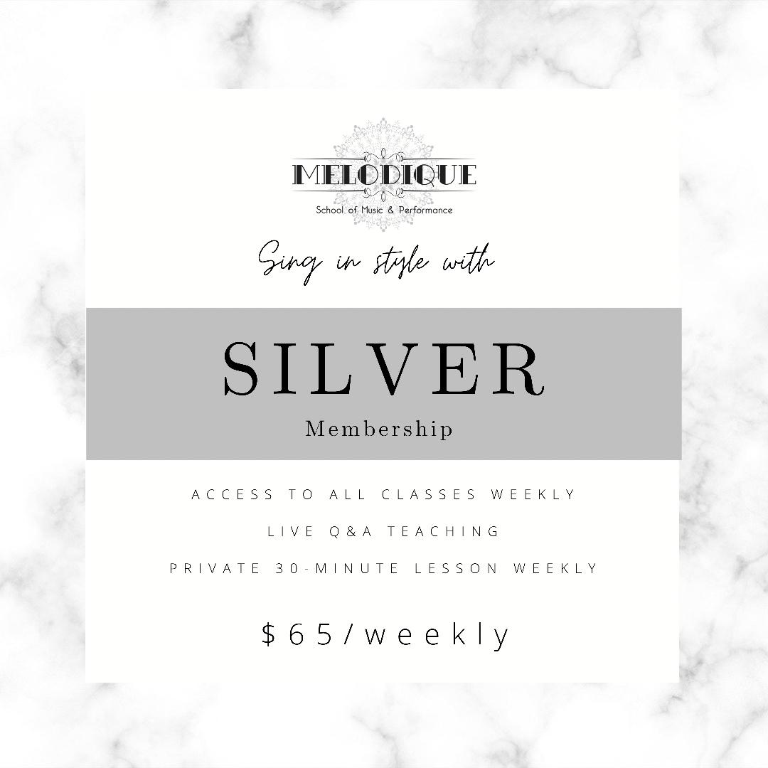 SILVER Membership  - $65/Week