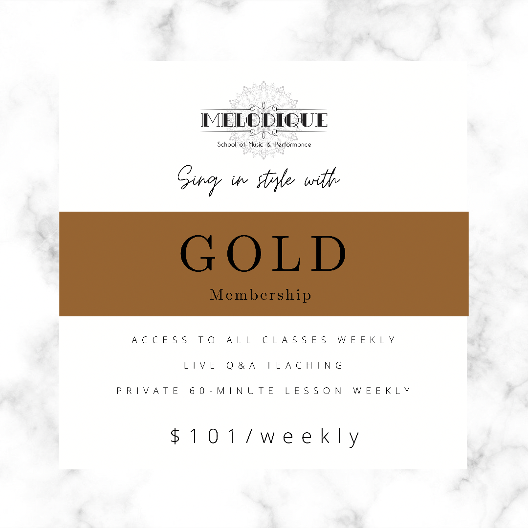 GOLD Membership - $101/Week